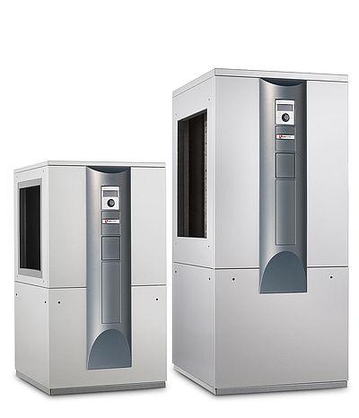 Bombas de calor ar-agua de instalação interior, modelo LW alpha-innotec. Gudenergy
