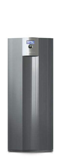 bomba de calor geotérmica com kit de refrigeração integrado e tecnologia inveter opcional