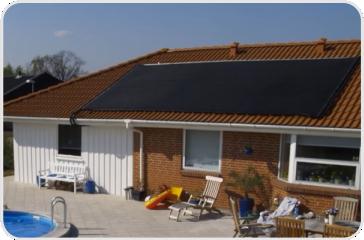 Mont. coletor solar-rapid para aquecimento de piscinas
